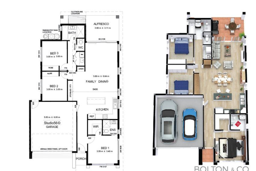 TypeC_3Bed_Floorplan